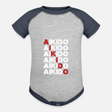 Aikido aikido - Contrast Baby Bodysuit