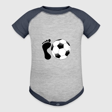 Soccer Sports - Baby Contrast One Piece