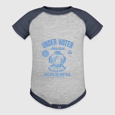 UNDER WATER ADVENTURE - Baby Contrast One Piece