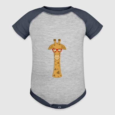 Giraffe graphics - Baby Contrast One Piece