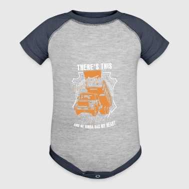 Tow Truck Driver T Shirt - Baby Contrast One Piece