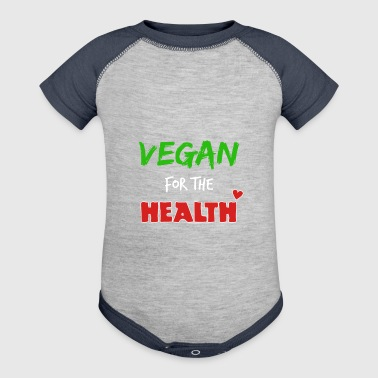 Vegan for the health - Baby Contrast One Piece