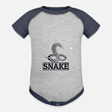 Crawl Snake Snake - Baby Contrast One Piece