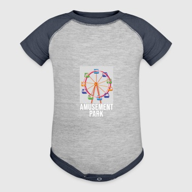 amusement park ferris wheel gift idea - Baby Contrast One Piece
