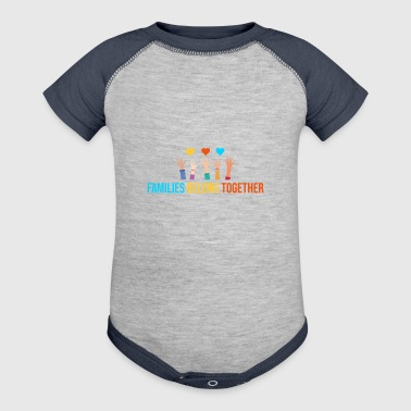 Together Families Belong Together Immigrant Shirt - Baby Contrast One Piece