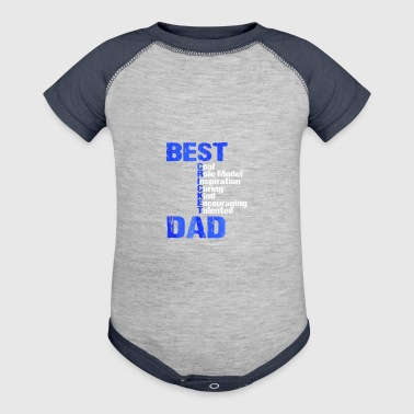 Cricket Bat Ball Shirt for Indian Desi Cricket Dads Tshirt - Baby Contrast One Piece