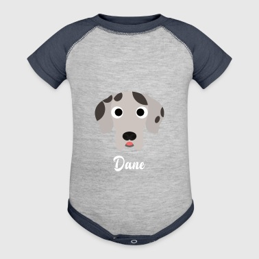 Dane - Great Dane - Baby Contrast One Piece