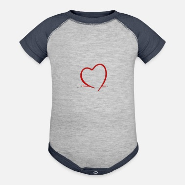 Energy-conscious I love electric car mobility gift E car - Baseball Baby Bodysuit