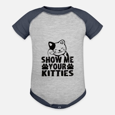 Cat Lady Cat Lady - Baseball Baby Bodysuit