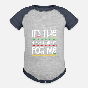 Ticked Off It's The Black History For Me - Baseball Baby Bodysuit