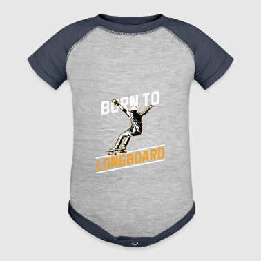 Sports - Born To Longboard - Baby Contrast One Piece