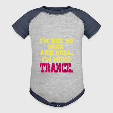 Trance trance trance - Baby Contrast One Piece