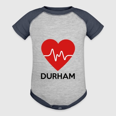 Heart Durham - Baby Contrast One Piece