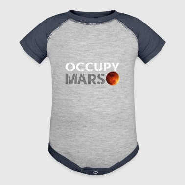 occupy mars - Baby Contrast One Piece