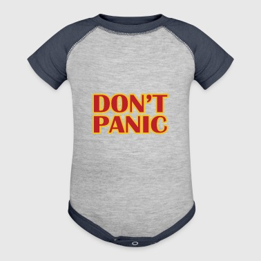Dont Panic - Baby Contrast One Piece