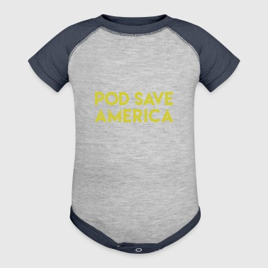 POD SAVE AMERICA - Baby Contrast One Piece