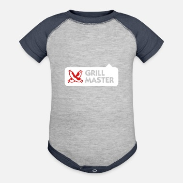 Grillmaster Grillmaster - Contrast Baby Bodysuit