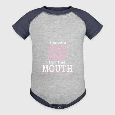 this mouth - Baby Contrast One Piece