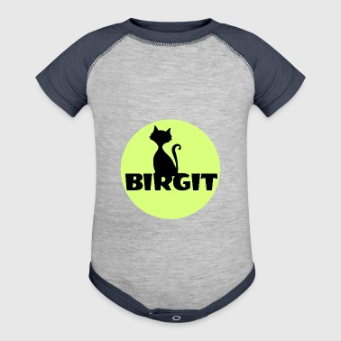 Birgit Name first name - Baby Contrast One Piece