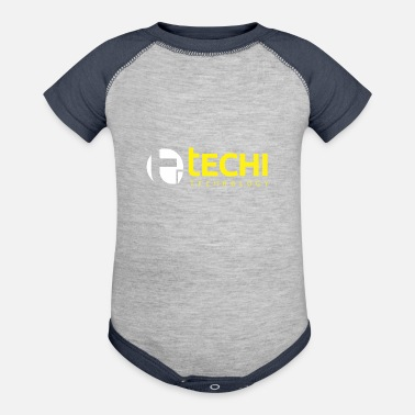 Technology Technology Round - Contrast Baby Bodysuit