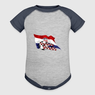 Croatia Football - Baby Contrast One Piece