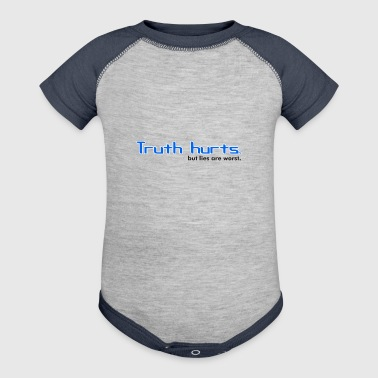 Truth truth - Baby Contrast One Piece