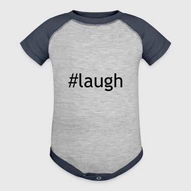 laugh - Baby Contrast One Piece