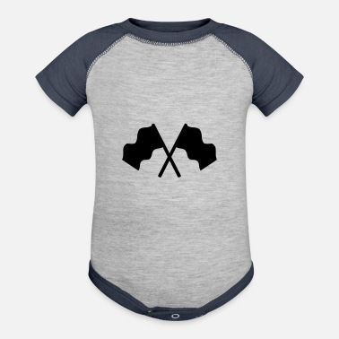 Flags Flags - Baseball Baby Bodysuit