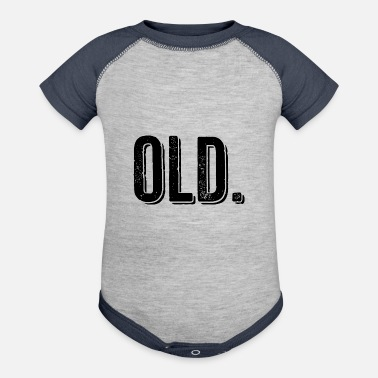 Old Old - Baseball Baby Bodysuit