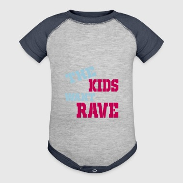 rave - Baby Contrast One Piece