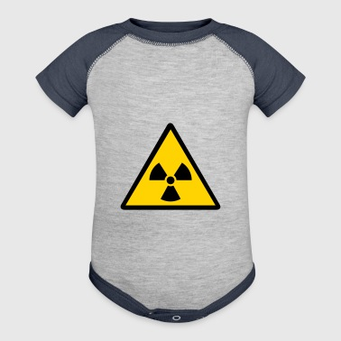 nuclear warning - Baby Contrast One Piece