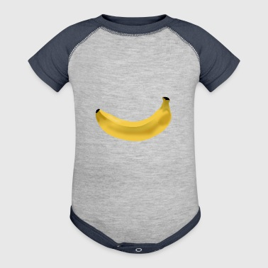 banana - Baby Contrast One Piece