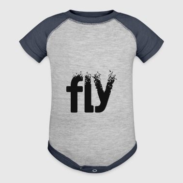 fly - Baby Contrast One Piece