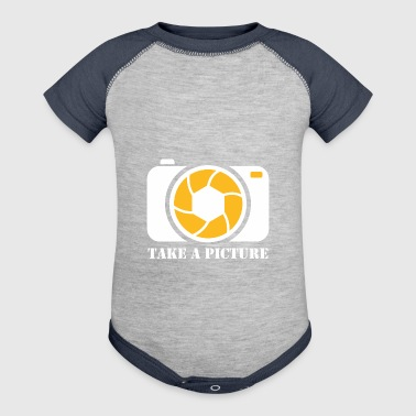Take A Picture - Baby Contrast One Piece