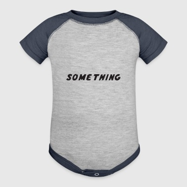 SOMETHING - Baby Contrast One Piece