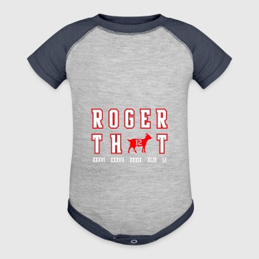 roger that - Baby Contrast One Piece