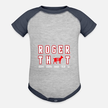 Roger roger that - Baby Contrast One Piece
