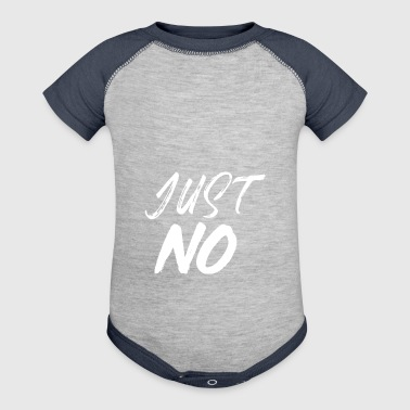 JUST NO - Baby Contrast One Piece