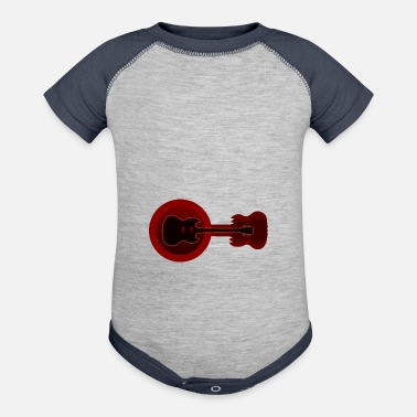 Electric Guitar Electric Guitars - Contrast Baby Bodysuit