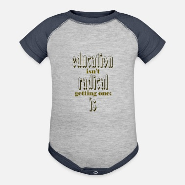 Education Culture education - Baseball Baby Bodysuit