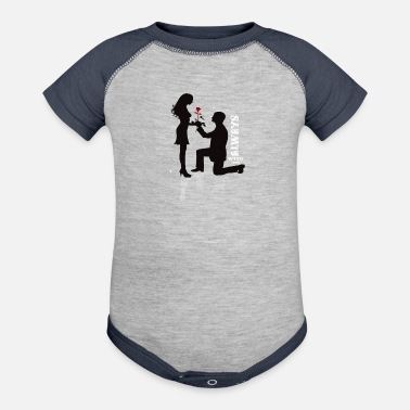 Couples Couple - Contrast Baby Bodysuit