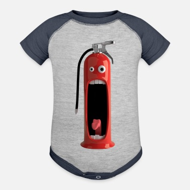 Fire Extinguisher Extinguisher - Baby Contrast One Piece