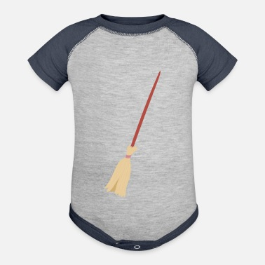 Broom Broom - Baseball Baby Bodysuit