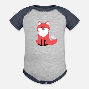 Foxes Fox, Fox Tshirt, Fox Hoodies, Fox Sweatshirt, - Baseball Baby Bodysuit