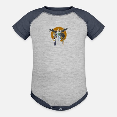 Mistress THE DRAGON MISTRESS - Baseball Baby Bodysuit