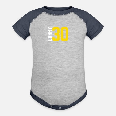 Curry Curry Steph Curry 30 - Baseball Baby Bodysuit