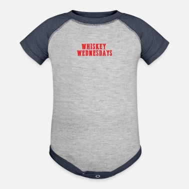 Whiskey Whiskey Wednesdays - Baseball Baby Bodysuit