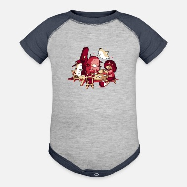 Tea Party - Baseball Baby Bodysuit
