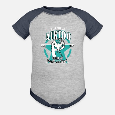 Aikido Welcome to Aikido - Contrast Baby Bodysuit