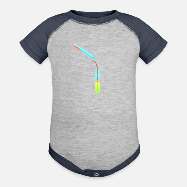 Test Tube test tubes - Baseball Baby Bodysuit